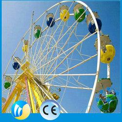 New interesting rides oudoor amusement rides hot sale used ferris wheel