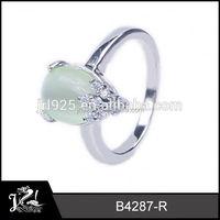 Excellent Design Mens  star opal ring
