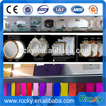 SELL 4mm 5mm 3mm 1.8mm aluminium mirror and silve mirror glass