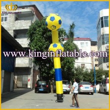 Customized Two Footballs Inflatable Air Dancer Blower, Inflatable Air Dancing Ballons