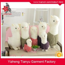 Lovely stuffed customized plush sheep plush lamb Plush alpaca toys