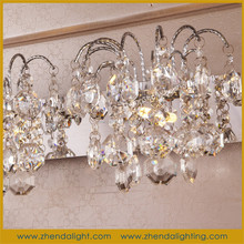 Modern sconces hot sale crystal wall chandelier lights with G4 bulbs