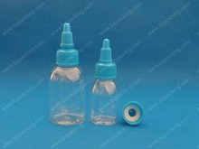 30ml/60ml empty PET Boston bottle with twist cap BZ- I 030-1