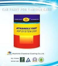 Basecoat Series 1K Metallic Colors Car Paint