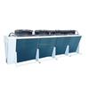 Vertical refrigeration condenser for heat exchange