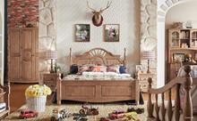 healthly teenager children solid oak bedroom furniture wooden room furniture