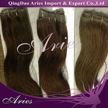 wholesale natural wavy virgin hair indian / brazilian/peruvian hair remy hair extension