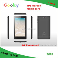Quad core 7 inch 4G phone call sex power tablet