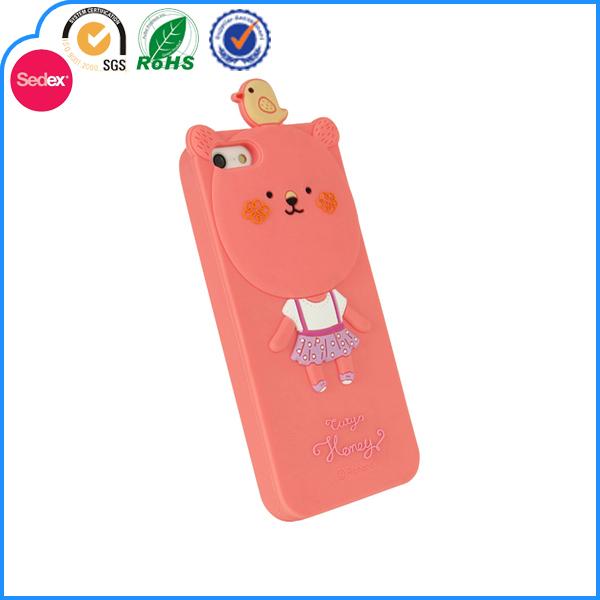2014 cute animal silicone phone case,Cheap Mobile Phone Accessory,custom Mobile Phone Case