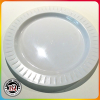 Disposable PS round plastic plate