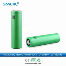 2014 smoktech sony vtc4/vtc5 rechargeable mechanical mod 18650 battery 30amp high current in stock
