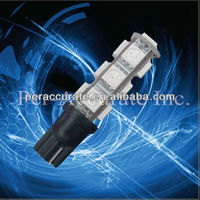 Auto T10 194 W5W error free can bus auto led lighting system 5050 13smd T10 motor 12v