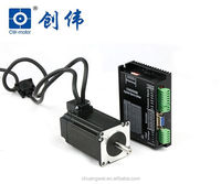 3 phase closed loop easy servo stepper motor with motor driver for sewing graving machine