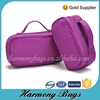 Varisous size travel storage purple handle quilted cosmetic bag