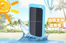 5000mah portable solar mobile phone charger/solar cell phone charger/solar power bank
