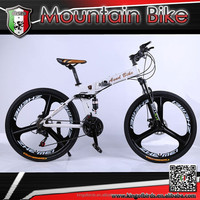 2015 3 spoke mag wheel folding mountain bike