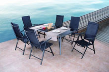 Large Rattan garden Outdoor Furniture Dining Set for 8 people