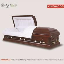 SUMMERVILLE luxury caskets pink casket china supplier