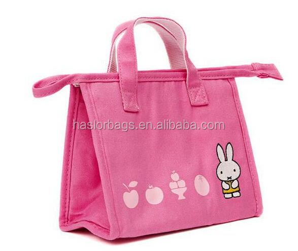 Rose pliable sac à Lunch chauffe - plats pour enfants