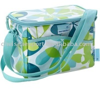fashion food grade standard picnic insulated lunch bag with EPE foam and aluminum foil inside