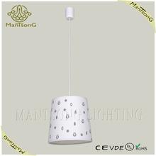 hot sale modern home decor decorative plastic pendant light