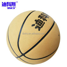 Customized Your Own Cow Leather Basketball Without Dot Indoor Play