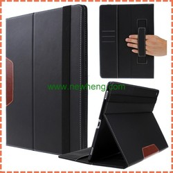 New Arrival promotion Wallet PU Leather Case For ipad Pro with card slots