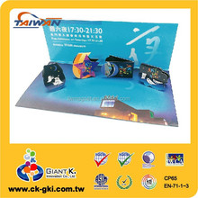 For musenum promotional gifts magnetic different shapes of bookmarks