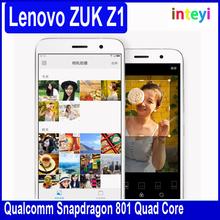 Original Lenovo ZUK Z1 Mobile phone Touch ID Snapdragon 801 2.5GHz 3GB 64GB 5.5 Inch 4100mAh 8.0MP 13.0MP smart phone