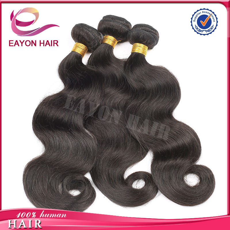 Wholesale price 16 inch body wave 6a grade promotion human hair