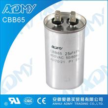 ADMY wholesale price list of motor run capacitor 4uf 250v for machine
