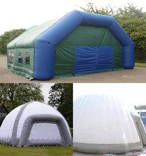 Colorido bolha tenda / inflável car cover ar inflável dome tenda para venda