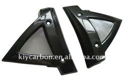 Carbon fiber frame guard fits Suzuki motorcycle