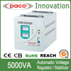 High quality delay type 5000VA voltage regulator for home use