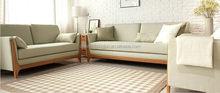 Updated most popular sofa set classic wood frame sofa