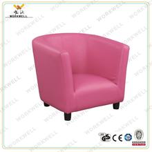 WorkWell cheap leather kids sofa Kw-CS21