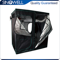 Factory Direct Supply Indoor Hydroponics Highly Reflective Fabric Grow Room Grow Tent