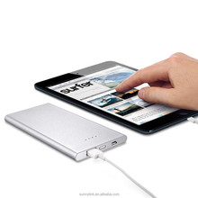 Ultra Slim Aluminum External Cell Phone Battery Charger Portable Charger 10000mAh Power Bank