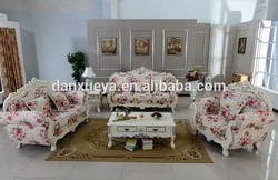 french provincial lifestyle diwan antique furniture living room empire sofa DXY-3048#