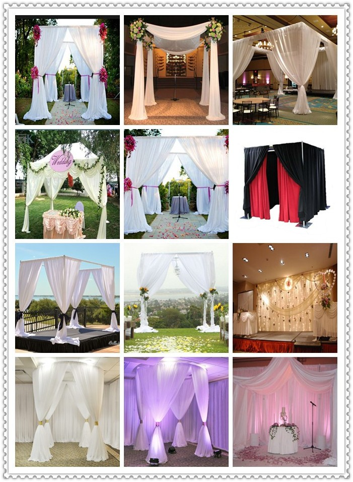 Pipe And Drape Hot Saleused Wedding Backdrop Polesparty Wall