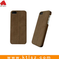 Wholesale nature wood bamboo phone case for iphone 5 5s