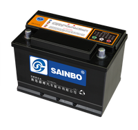 JIS standard maintenance free 55D23L car battery/12V60AH MFcar battery/high quality and good price car battery