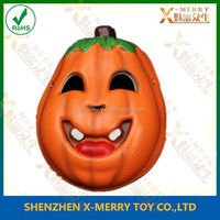 X-MERRY Kids or female face party mask pumpkin eva solf confortable quality mask