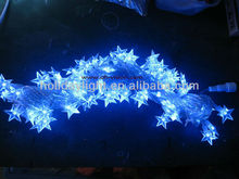 waterproof holiday string light with star