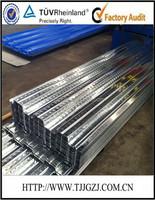 Metal deck roofing sheets/Galvanized Floor decking steel sheet 0.7-1.2mm YX51-225-678zed decking sheets/
