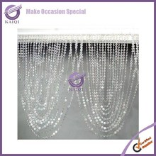 K4237 Hanging room divider curtain crystal beaded cheap wholesale