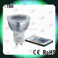 5w led spotlight factory selling outdoor stadium led flood lighting shell GU10 lamp cup