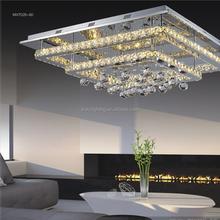Large Luxury Modern Ceiling Lights K9 Crystal Luminaire
