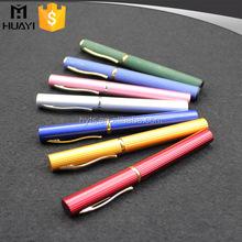 6ml aluminium pen type perfume bottle with spray or roller ball