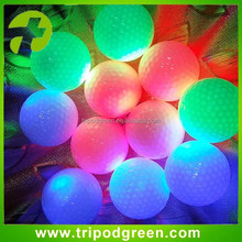 LED golf ball manufacturer wholesale multi-color flashing led golf ball